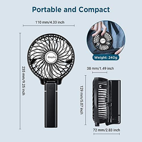 USB-Ventilator EasyAcc Handventilator tragbar Bild 5*