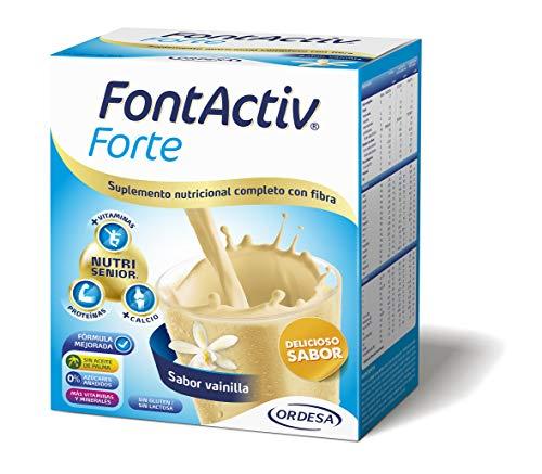 Fontactiv Forte Vainilla - 14 Sobres de 30gr Suplemento Nutricional para adultos y mayores - 1 o 2 sobres al día
