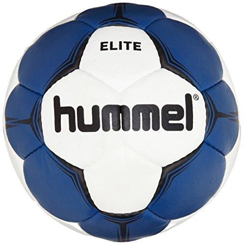 Hummel Erwachsene Smu Elite HB Handball, weiß (White/Blue), 3