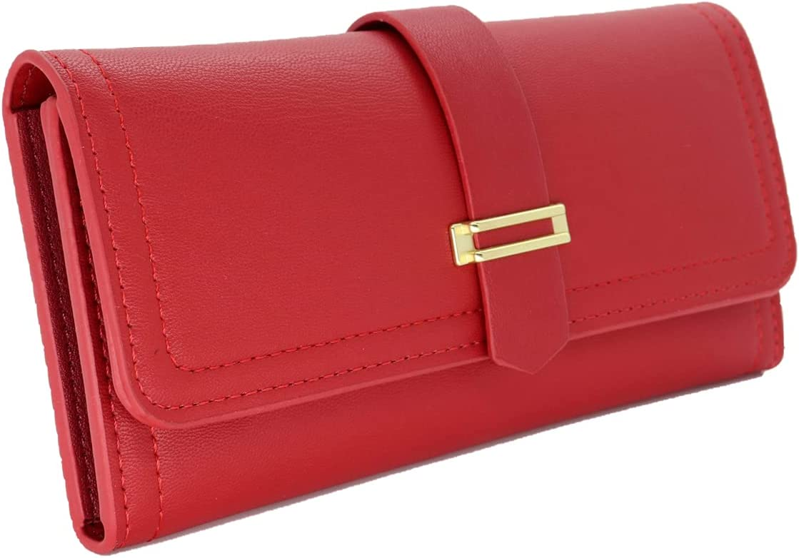 RILONG Wallets for Women Long El Paso Mall Leather Card New color Cute Holder Min Purse