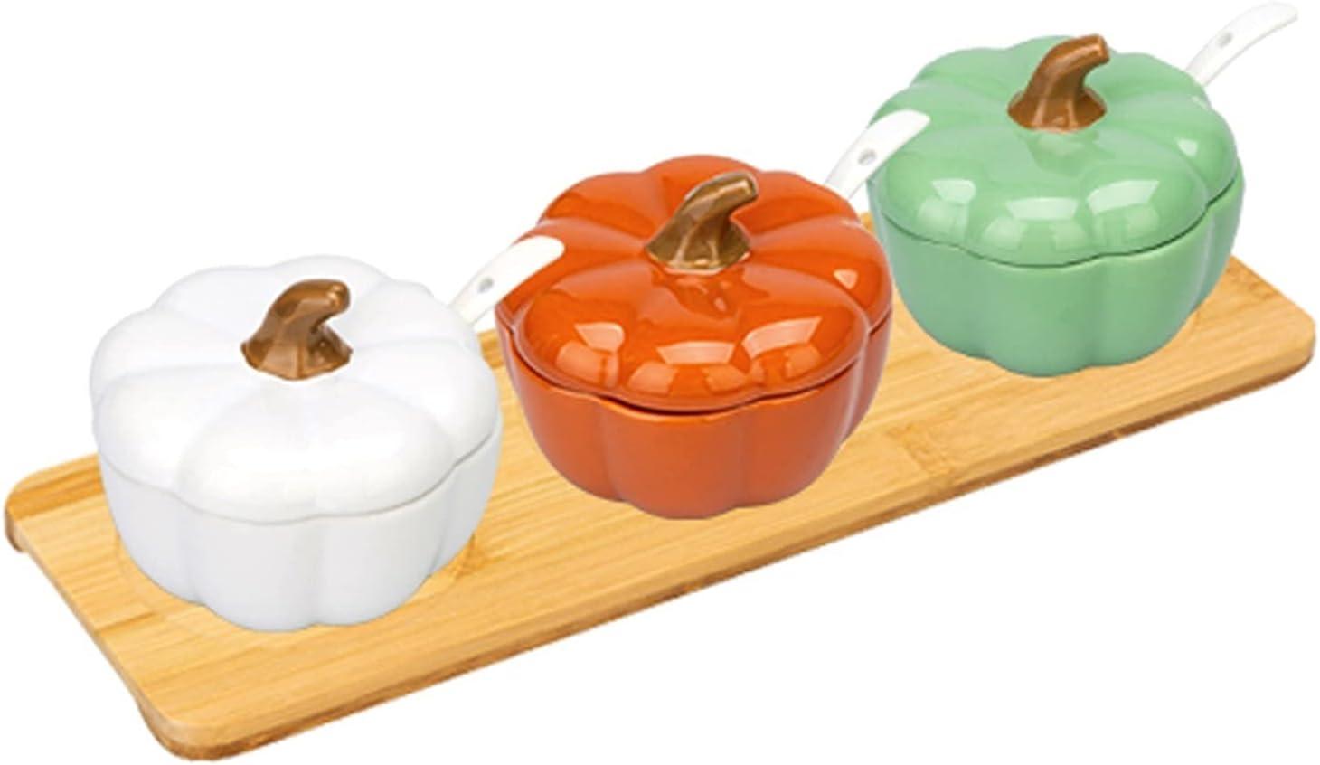 Condiment Jar Financial sales sale Popular standard Spice Container Ceramic Combination Seasoning