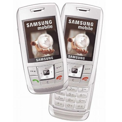 Handy Samsung SGH-E250i Chic White Ohne Simlock