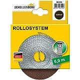 Schellenberg 46104 Cinta de persiana ancho, color marrón, Mini 14 mm/6 m