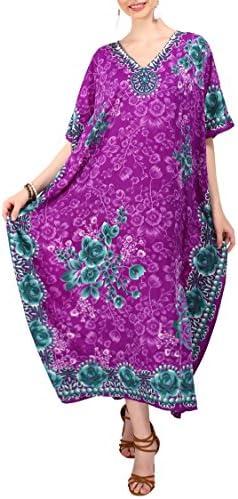 Miss Lavish London Ladies Kaftans Kimono Maxi Style Dresses Suiting Teens to Adult Women in product image