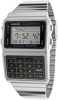 CASIO カシオ DATA BANK データバンク ユニセックス 腕時計 DBC-611-1DF シルバー 海外モデル [時計] 逆輸入品