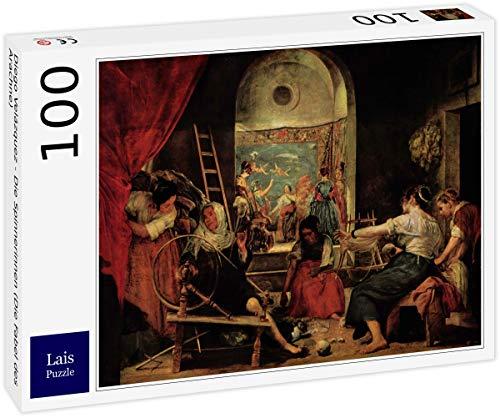 Lais Puzzle Diego Velázquez - Los Hilanderos (La Fábula de Aracne) 100 Piezas