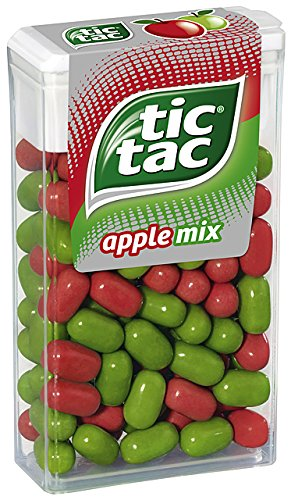 tic tac apple mix Vorratspack, 16er Pack (16 x 49 g Packung)