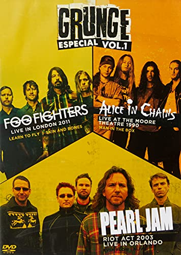GROUNGE ESPECIAL VOL. 01 - FOO FIGHTERS/ ALICE IN CHAINS/ PEARL JAM