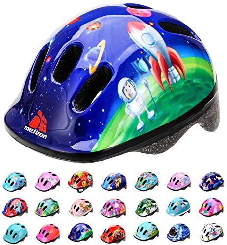 meteor® fietshelm kinderhelm MTB scooter helm helmet voor downhill scheidingshelm mountainbike inliner skatehelm BMX fietshelm jongens meisjes Fahrradhelmet bike HB6-5