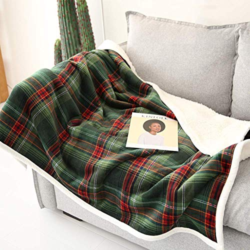 LEILEI Throw Blankets Two-sided super soft print blanket for bed and sofa anti-wrinkle and anti-fade 125X155CM