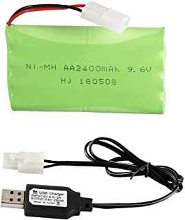 ZYGY 2PCS 9.6V 800mah battery for S911 S912 9115 9116 9120 high-speed off-road Remote Control car accessory battery