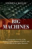 Big Machines: Cryptographic Security of the German Enigma, Japanese PURPLE, and US SIGABA/ECM Cipher Machines