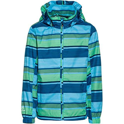 Color Kids Kinder Esben Wassersäule 8000mm Regenjacke blau 104
