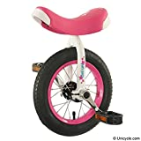 Tini Uni - 12' Unicycle Pink