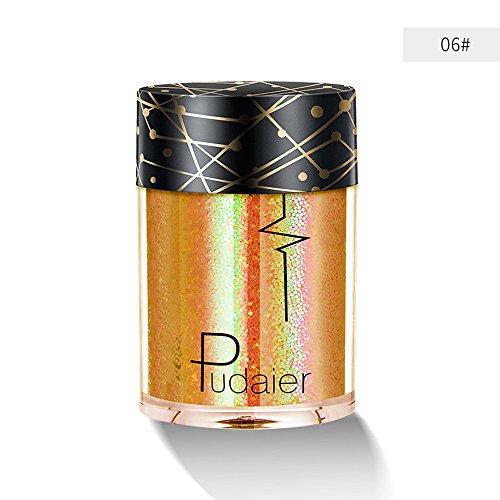 BHYDRY Mehrzweck-Shimmer-Glitter-Lidschatten-Pulver-Palette