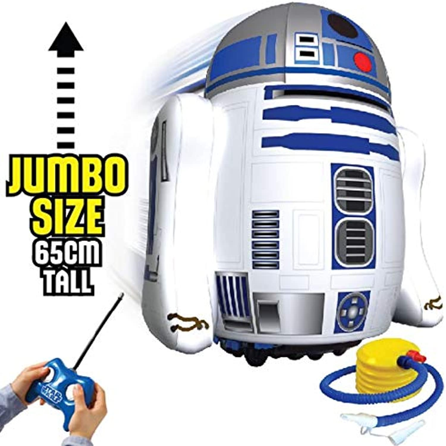 Remote Controlled Inflatable Star Wars R2D2