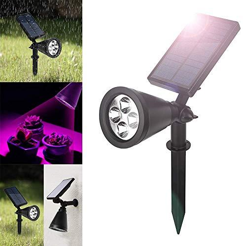 Kuke Solar Pflanzenlampe LED Wachstum Pflanzenleuchte, mit 16 LED Pflanzenlicht Einstellbare Flexible 90 Grad Solarleuchte für Garten,Blumen, Gewächshaus, Saatgut, Gemüse