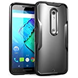 SupCase Unicorn Beetle Series Case for Motorola Moto X Style/Pure Edition (2015 Release) (Frost/Black)