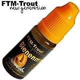 FTM Bienenmadenöl 10ml - Fischlockstoff zum Forellenangeln, Lockstoff zum Angeln auf Forelle,...