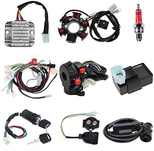 110cc chinese atv wiring harness _image4