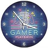 SuperDuperDecor VIDEO GAME CLOCK...