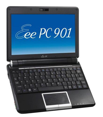 Asus Eee PC 901 Go Linux schwarz 22,6 cm (8,9 Zoll) WSVGA Netbook (Intel Atom N270 1,6GHz, 1GB RAM, 16GB HDD, UMTS/HSDPA, Linux)
