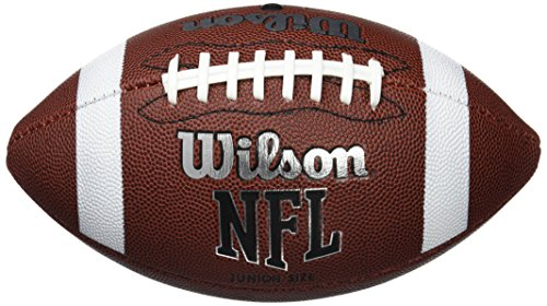 Wilson Unisex-Youth NFL JR FBALL BULK XB American Football, JUNIOR