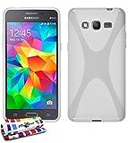 Muzzano F1405416 - Funda para Samsung Galaxy Grand Prime, color blanco