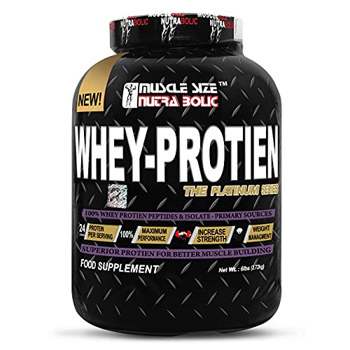 Bagri Nutrition MSN The Platinum Series 100%Whey-Protein & Isolate-primary Sources Superior protein for Better Muscle Building (6lbs) (MALT CHOCOLATE)