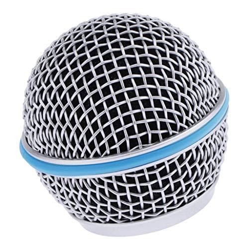 kesoto Griglia di Microfono di Ricambio (Sfera) con Parabrezza in Schiuma Incorporato. - 58A