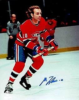 Guy Lafleur Autographed Picture - 8x10 HOFer COA - Autographed NHL Photos
