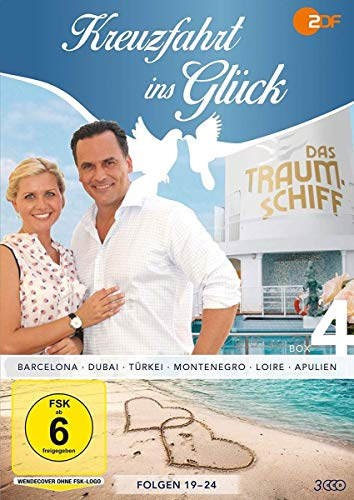 Kreuzfahrt ins Glück - Box 4 - Folge 19-24 (3 DVDs)