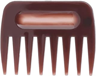 Hair Hairdressing Comb Portable Men Oil Wide Large Thick Tooth Hairstyle Comb Five-finger No Tangled