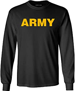 Joe's USA - Military T-Shirts - Gold Army Logo T-Shirts, Sweatshirts and Hoodies