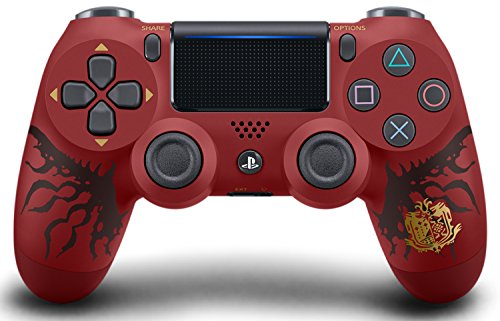 ワイヤレスコントローラー (DUALSHOCK 4) MONSTER HUNTER: WORLD LIOLAEUS EDITION