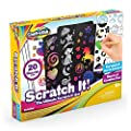 Creative Kids Ultimate Scratch It Off Papers Activity Set for Kids | Rainbows Scratchboard Arts & Crafts Kits for Children | Party Favor Pack, Schools, Birthdays | for Boys & Girls