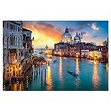 artboxONE Poster 90x60 cm Städte/Venedig Canal Grande in