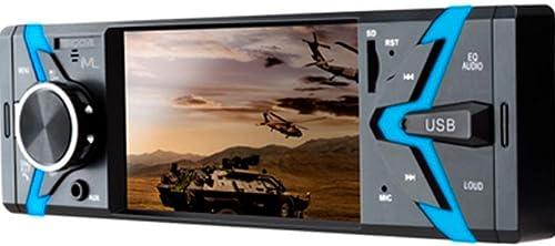 Multilaser Som Automotivo Groove Tela 4 Pol. 1 Din Bluetooth Mp5 4X45Wrms Rádio Fm + Entrada Cartão Sd + Usb + Aux Ap...