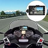 HilMe Motorrad Armaturenbrett-Kamera, 720P Motorrad Video Driving Recorder Dash Cam, Full Body wasserdicht, Kamera Driving Recorder, nicht null, Vc09547a1., Free Size