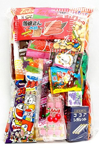 Assorted Japanese Junk Food Snack