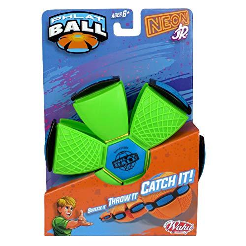 Phlat Ball 31860.006 Neon oder Metallic Farbiger transformierender Outdoor-Ball – Pink, Orange, Grün, Lila, Gelb und Blau