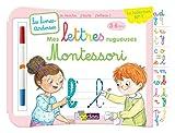 Livres-ardoises - Mes lettres rugueuses Montessori - 3 à 6 ans - Editions Bordas 2019