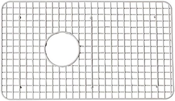 Rohl Wsg6307wh 26 1 4 Inch By 15 1 4 Inch Wire Sink Grid For 6307 Kitchen Sinks In White Abcite Vinyl Single Bowl Sinks Amazon Com