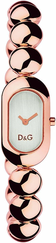 Dolce & gabbana oorlogio da donna cassa e bracciale in acciaio con trattamento ip oro rosa DW0229