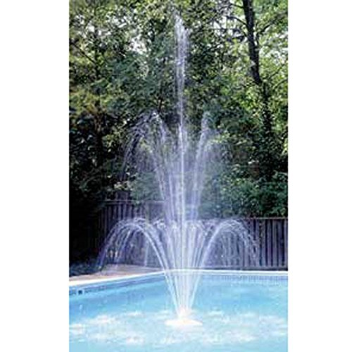 Easy to Attach Grecian Triple Tier Floating Swimming Pool Fountain Add Spark to Your Pool