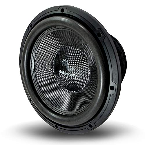 """Harmony Audio HA-C122 Car Stereo Competition Carbon 12"""" Sub 2200W Dual 2 Ohm Subwoofer New"""