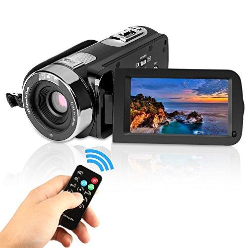 GordVE KG004 2.7 LCD Screen Digital Video Camcorder Night Vision 24MP Camera HD Digital Camera