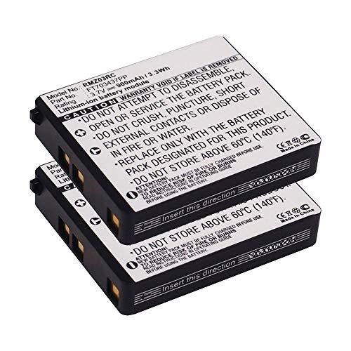 subtel 2X Qualitäts Akku kompatibel mit Razer Mamba (RC03-001201), FT703437PP 900mAh Ersatzakku Batterie