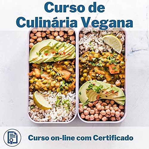 Curso Online em videoaula de Culinária Vegana com Certificado + 2 brindes