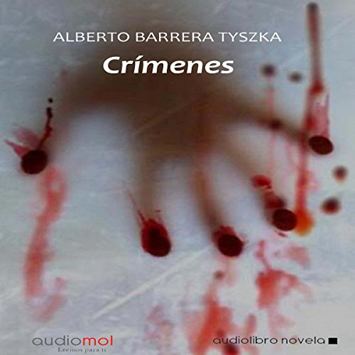 Crímenes audiobook cover art